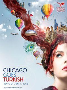 Poster design for <em>Chicago Turkish Festival</em>