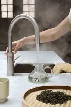 Oolong thee maken met de Quooker Flex