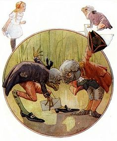 Illustration by Margaret Tarrant 1916  Alice's Adventures In Wonderland.