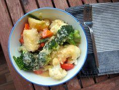 Vegetarian gravy: tangy miso gravy