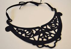 cut out necklace TUTORIAL