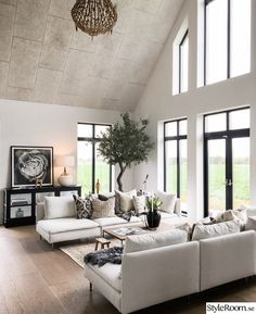 √ popular living room design ideas are hot in 2020 25 Winter Living Room, Big Living Rooms, Comfortable Living Rooms, Home Living Room, Living Room Decor, White Couch Living Room, Dining Rooms, Living Room Modern, Interior Design Living Room
