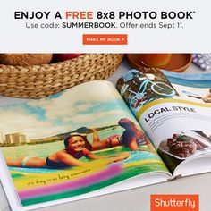 Remember your epic summer with a free photo book. Use code: SUMMERBOOK. Offer ends September 11. Click to see full details.