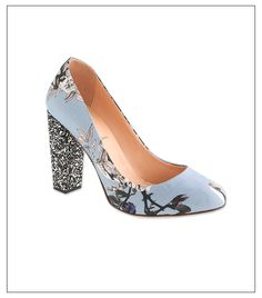 we rounded up the best printed pumps on the market!  Just bought these myself from Lane Crawford!! J Crew - the r divine!!!