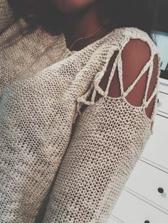 Cute for a beach cover up (: or even a light sweater!