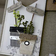 Elizabeth Craft Designs, Diy Cards, Handmade Cards, Hanging Plants, Bottle Opener, Stampin Up, Card Making, Wraps, Blog