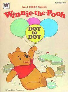 Winnie-the-Pooh Dot to Dot, Whitman 1979
