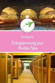 Pure relaxation at the Rudas Spa Sunday morning – we decided we wanted to try on of Budapest's many spas. We quickly picked one and we planned our trip to the Rudas Thermal Bath. Steam Sauna, Steam Bath, Budapest, Big Basin, Small Spa, Marble Columns, Turkish Bath, Relaxation Room, Try On