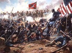 The Battle of the Crater was a battle of the American Civil War, part of the Siege of Petersburg. It took place on July 30, 1864, between the Confederate Army of Northern Virginia, commanded by General Robert E. Lee and the Union Army of the Potomac, commanded by Major General George G. Meade (under the direct supervision of the general-in-chief, Lt. Gen. Ulysses S. Grant).