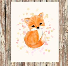 Fox nursery decor, fox nursery, woodland nursery, nursery decor girl, fox…