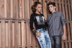 Editorial Paletes para Brascol Atacado; produzido pela MP Agência da Moda. #kids #denim #fashion #models #color #agenciadamoda #lookbookkids