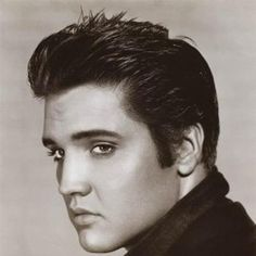 Elvis Presley, I remember listening to him on my grandpa's radio and watching his movies.. This man packs a lot of memories for me.. <3