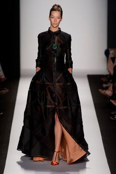 Carolina Herrera Spring 2014 Runway Show | NY Fashion Week | POPSUGAR Fashion