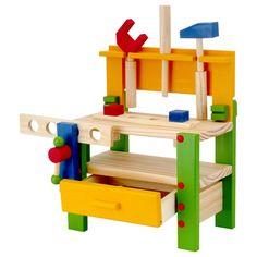Meu Brinquedo de Madeira - Bancada de ferramentas