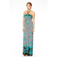 This flowery #summer #maxi #dress with a beaded halterneck will make you feel naturally beautiful and special. - See more at: http://myeveningdress.co.uk/maxi-dresses/1970-flower-power-summer-maxi-dress.html#sthash.0vUznCnT.dpuf