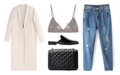 """""""Untitled #3711"""" by michelanna ❤ liked on Polyvore featuring Acne Studios, MANGO and For Love & Lemons"""