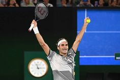 Risultati immagini per roger federer australian open 2017