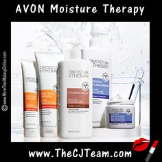 Stock up on Moisture Therapy faves! Avon. You don't need to splurge to give your skin what it needs. Mix or Match with these Avon Moisture Therapy Savings. Starting at $5. Shop online with FREE shipping with any $40 online Avon purchase.  #Avon #CJTeam #Sale #MoistureTherapy #BodyCare #Lotion #BodyLotion #C11 Shop Avon Moisture Therapy online @ www.TheCJTeam.com