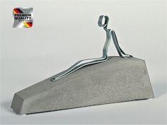 """Skulptur Figur """"La dolce far niente"""" oder neudeutsch: """"Chill mal!"""", Beton"""