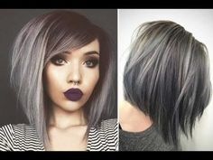 Canapés of long hairstyles Bob; It is, in the first place, among the hair styles that all ladies love very much. Models that can create very different designs with hair colors like sweep and shadow are very cool. Canapés of long bob… Continue Reading → Grey Hair Pieces, Ombre Bob Hair, Long Bob Cuts, Long Cut, A Line Long Bob, Line Bob Haircut, Langer Bob, Wavy Bob Hairstyles, Bob Haircuts