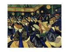 "20/""x26/"" Canvas Art Print Vincent Willem Van Gogh Pine Trees against a Red Sky"