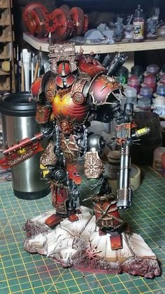 So much better then the GW one! Lord of Skulls convertion
