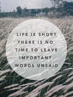 life is short // inspirational //quotes // urban life // metropolitan lifestyle // amazing // weekly goals //
