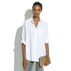 Oversized Button-Down Shirt. Bought it. Love it.