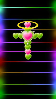 Cross Wallpaper, Heart Wallpaper, Wallpaper Ideas, Heart Designs, Jesus Pictures, Iphone Wallpapers, Peace And Love, Glow, Hearts