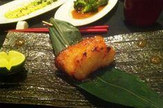 Miso Glazed Sea Bass