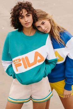 FILA + UO Docka Striped Short