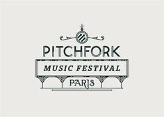 Pitchfork Paris 2012 logo alludes to the circuses of the 1890s