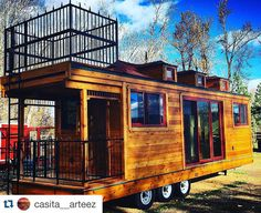 Best Tiny Home On Wheels With Roof Deck Google Search Tiny 400 x 300