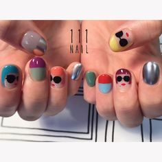 """Learn even more details on """"nail paint ideas polish easy"""". Browse through our site. Mc Nails, Nails 2017, Love Nails, Pretty Nails, Nail Polish Designs, Cool Nail Designs, Korea Nail Art, Hello Nails, Mary Janes"""