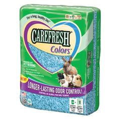 Absorbtion Corp Carefresh Premium Soft Pet Bedding, 50-Liter, Blue - Listing price: $43.41 Now: $24.39
