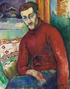 Portrait of Jean Puy, Henri Manguin
