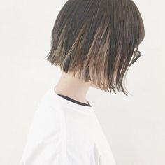 Bob Hairstyles, Straight Hairstyles, Hair Inspo, Hair Inspiration, Underdye Hair, Hidden Hair Color, Mullet Hairstyle, Japanese Hairstyle, Aesthetic Hair