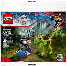 : Lego Jurassic World - 30320 - Dino Trap. 1 Gallimimus-Saurier 1 Dino-Falle im Beutel Lego Jurassic Park, Jurassic World Set, Lego Minecraft, Trap, Batman Vs, Lego Batman, Lego Dc Comics, Lego Marvel, Dc Universe