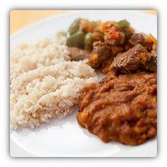 La #Bandera is national #food (dish) of #Dominican Republic