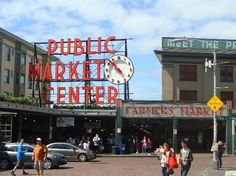 Pike Place Market (Where we went on our honeymoon and 15th anniversary)