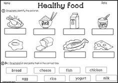 Nutrition / Food Choices: Healthy & Unhealthy / Good & Bad