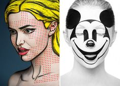 12 | Insane Makeup Turns Models Into 2-D Paintings Of Famous Artists | Co.Design | business + design