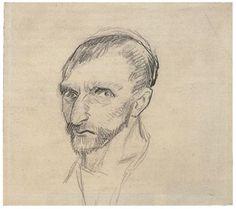 Vincent Van Gogh sketch /self-portrait