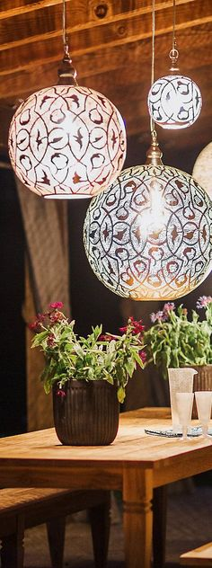 Bohemian Sphere Lights