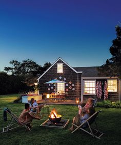 Rebecca Robertson's summer cottage (June issue of Martha Stewart Living)
