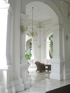 Raffles hotel, Singapore #outdoor living