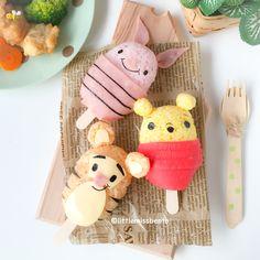 Winnie The Pooh Rice balls