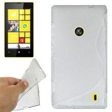 Funda Lumia 520 - Sline Gel Transparente  $ 42,11