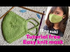 How to make mask,(eng sub) tutorial knit mask, never knit mask easy like. How to make mask,(eng sub) tutorial knit mask, never knit mask easy like. Crochet Mask, Crochet Faces, Knit Crochet, Knitting Socks, Free Knitting, Baby Knitting, Lidia Crochet Tricot, Knitting Patterns, Tricot Facile