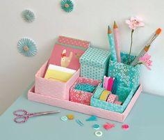 10 Ideias de Artesanato com Caixa de Sapato Cardboard Crafts, Paper Crafts, Diy And Crafts, Crafts For Kids, Diy Y Manualidades, Diy Organisation, Ideias Diy, Diy Desk, Diy Room Decor
